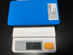 バッテリー重量測定画像